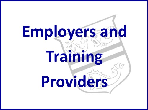 Employers and Training Providers