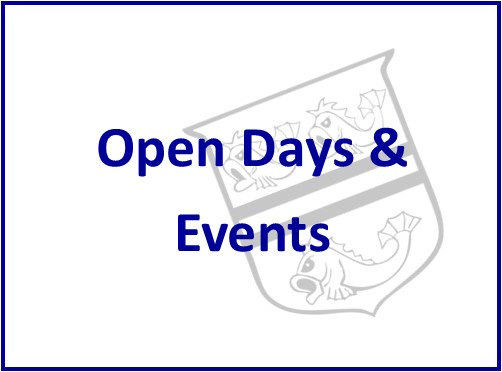 Open Days and Events